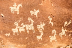 Arches National Park - Wolfe Ranch Petroglyphs