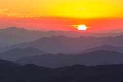 Sunset Clingmans Dome