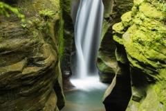Robinson Falls in Bosh Hollow Nature Preserve