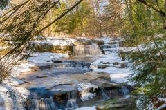 Upper Falls Cascades Winter
