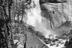 Nevada Falls B+W